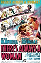 Posterazzi There'S Always A Woman Us Art from Left: Joan Blondell Melvyn Douglas 1938 Movie Masterprint Poster Print, (11 x 17)