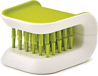 Joseph Joseph 85105 BladeBrush Knife and Cutlery Cleaner Brush Bristle Scrub Kitchen Washing Non-Slip, One Size, Green