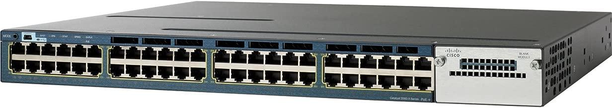 Cisco Refurbished Equip. WS-C3560X-48T-L-RF Catalyst 3560X 48 Port Data FD