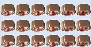 KartonProfis tesa 64014 plakband/pakkettape 66 m x 50 mm, chamois (18 rollen)