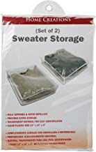 Innovative Home Creations Sweater Storage Bags, Multi-Colour, 30.48 x 17.78 x 1.9 cm