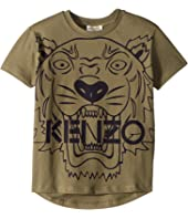 Kenzo Kids - Short Sleeve Tiger T-Shirt (Toddler/Little Kids)