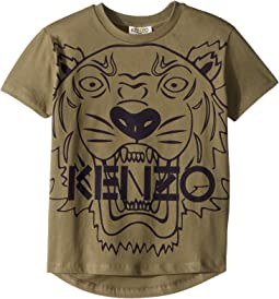 Short Sleeve Tiger T-Shirt (Toddler/Little Kids)