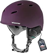 Wildhorn Drift Snowboard & Ski Helmet - US Ski Team Official Supplier - Performance & Safety w/Active Ventilation