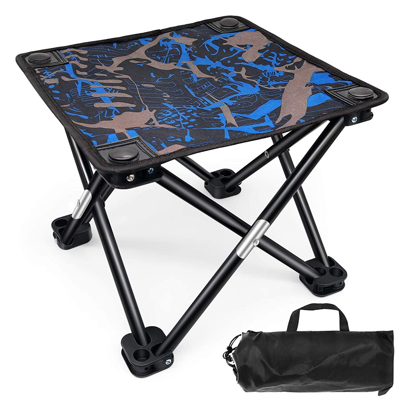 セグメント広大な幽霊BESONT 折りたたみチェア アウトドア 折りたたみ椅子 ベンチ コンパクトに収納 丈夫 荷重100Kg キャンプ用 収納袋付き