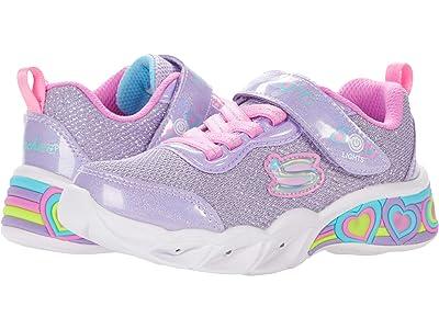 SKECHERS KIDS Sport Lighted Sweetheart Lights 302304L (Little Kid/Big Kid) (Lavender/Multi) Girl