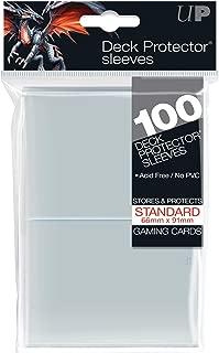 Konami - Ultra Pro Sleeves | Standard Card Deck Protectors | Pack of 100 | Clear