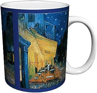 Vincent Van Gogh Cafe Terrace Fine Art Ceramic Gift Coffee (Tea, Cocoa) 11 Oz. Mug