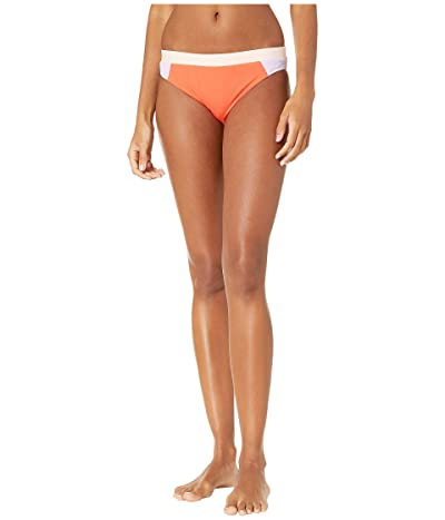 THE BIKINI LAB On the Block Cut Out Hipster Bottoms (Melon) Women