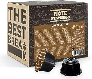 Note d'Espresso - Caffelatte - Capsules de Café - Exclusivement Compatible avec les Machines Nescafé* et Dolce Gusto* - 48...