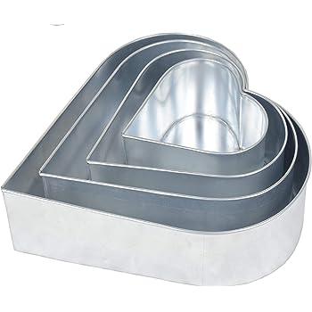 43-50cm Schneider Backform Herz Kuchenform Backrahmen Tortenring gr/ö/ßenverstellbar