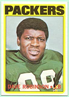 Dave Robinson 1972 Topps #116 - Green Bay Packers