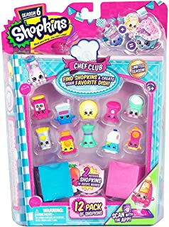 Shopkins Chef Club Playset 56144 Toy Accessories, Pack of 12