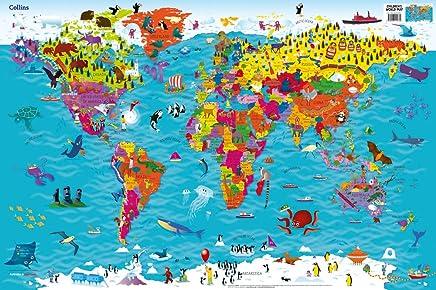 Collins Children's World Map