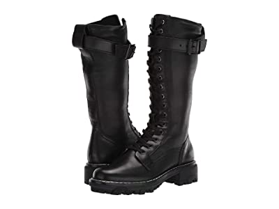 rag & bone Shiloh Tall Boot (Black) Women