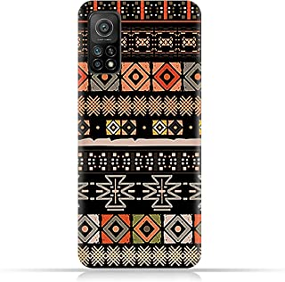 AMC Design TPU Mobile Case Cover for Xiaomi Mi 10T Pro 5G with Ethnic Boho Pattern