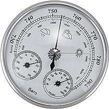 Camisin Montado en La Pared Termómetro De Uso Doméstico Higrómetro Medidor De Presión De Alta Precisión Aire Instrumento Meteorológico Barómetro