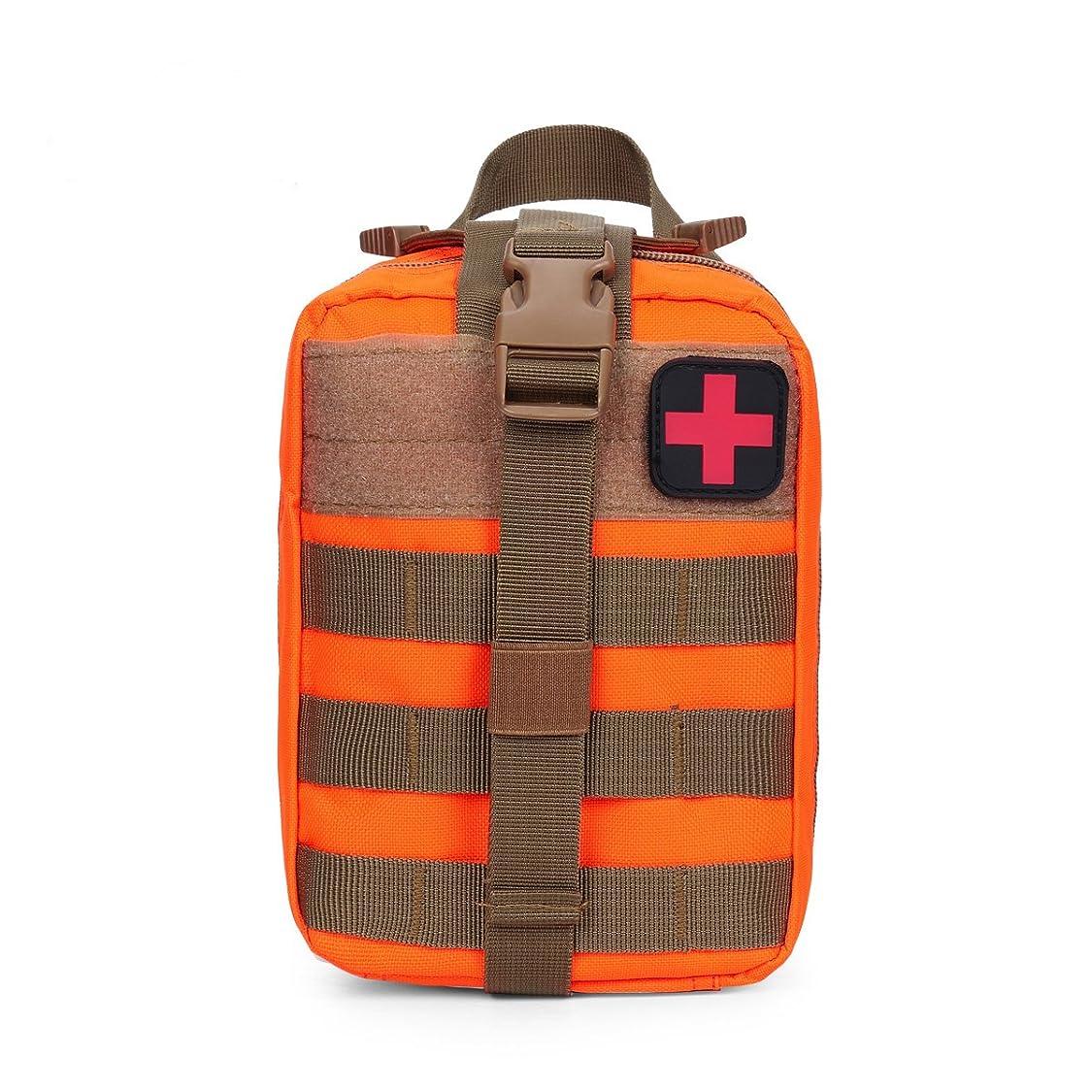 汚物飛ぶ泣いている地震援助キット屋外戦術的な医療応急処置キットMOLLOカーアクセサリーキット外部バッグポータブルキット