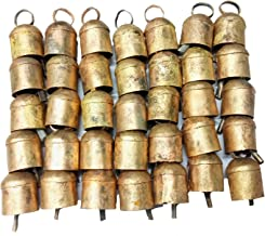 Mango Gifts Thirty Six Tin Bells with Metal Striker and Rounded Top 2