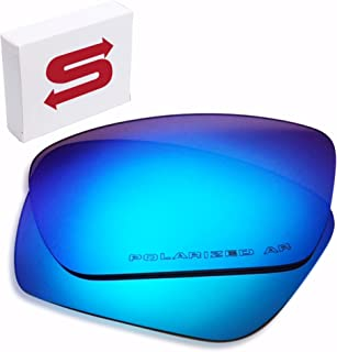Oakley Fuel Cell Replacement Lenses (Ice Blue) - Polarized, 1.4 mm Thick, AR Coated, Added UV Protection, Fits Perfectly, for Men & Women