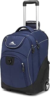 High Sierra Unisex Powerglide Wheeled Laptop Backpack, 17-inch Laptop Backpack