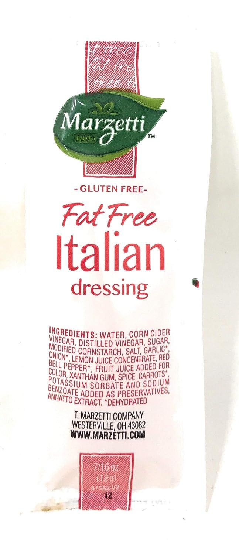 Marzetti Fat Free Italian Dressing Packets shop 204 Case 12 gram Cheap of