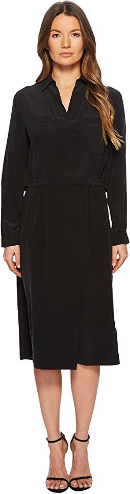 Vince - Slit Back Shirtdress