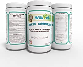 WizPet Dog Food Supplement Powder - 3.0 lbs - Adds Vitamins, Minerals and Enzymes - Works with Any Dog Food - Homemade, Kibble or Canned