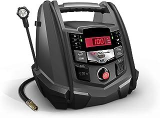 Schumacher SJ1289 1200 Amp Protable Power Jump Starter with AC/12V DC/USB Power plus Compressor and LED flex light