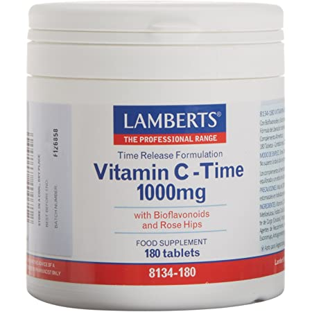 Lamberts Vitamina C 1000 mg - 180 Tabletas