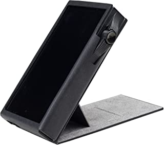 for Astell&Kern SA700, Handmade MITER CASE Cover [Patented Stand Case] AK SA700 (Black)