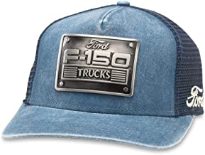 American Needle Ford F-150 Metal Head Mesh Back Adjustable Snapback Trucker Hat Navy