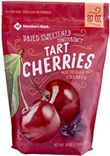 Member's Mark Dried Montmorency Tart Cherries (20 oz.) (pack of 2)