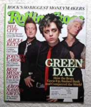 Billy Joe Armstrong, Tre Cool & Mike Dirnt - Green Day - Rolling Stone Magazine - #968 - February 24, 2005 - Pill City: a Drug Bazaar over The Border, Johnny Carson, Alicia Keys articles