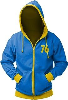 "Felpa (L) Fallout Zip Hoodie ""Vault 76"", Xl"