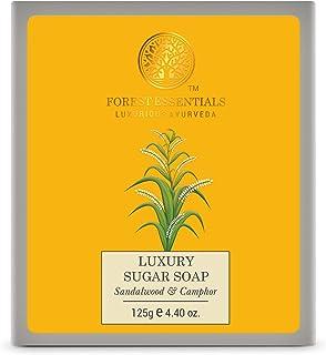 Forest Essentials Luxury Sugar Soap Sandalwood & Camphor 125g