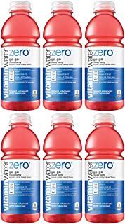 Vitamin Water-Zero, Mixed Berry - Go-Go, 20oz Bottle (Pack of 6, Total of 120 Oz)