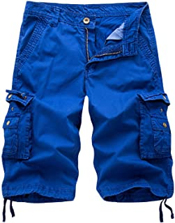 TWIFER Men Lightweight Cargo Shorts Utility Work Hiking Short Outdoor Workout Twill Shorts with Multi Pockets