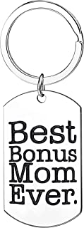 Mother In Law Gifts Best Bonus Mom Ever Keychains Women Jewelry Appreciation Gifts For Step Mom