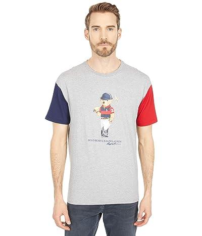 Polo Ralph Lauren Classic Fit Polo Bear T-Shirt (Andover Heather Multi) Men