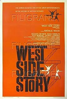 PostersAndCo TM West Side Story Film Roak Poster / Reproductie 60 x 80 cm * d1 Bioscoopposter