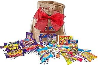 Great British Bag of sweets | 15 BARS & 250G MIX OF RETRO CANDY | British Candy & Chocolate Gifts Cadbury Retro Candy Best of British Candy in Basically British Gift Bag (Regular)