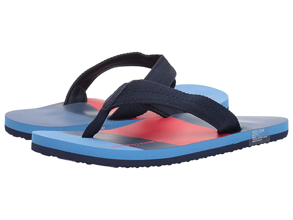 Hanna Andersson Sunny Day Flip Flops (Toddler/Little Kid/Big Kid) (Navy) Boys Shoes