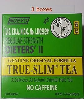 True Slim Tea Regular Strength Dieters Ii (Pack of 3)