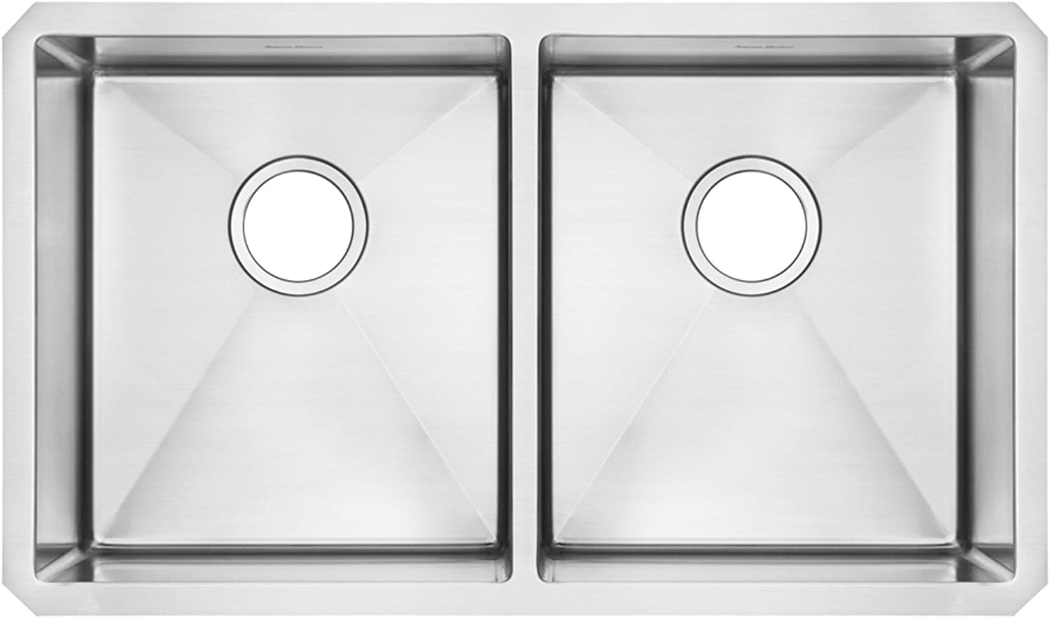 American Directly managed store Excellent Standard 18DB.9291800.075 Pekoe 29x18 Double Undermount