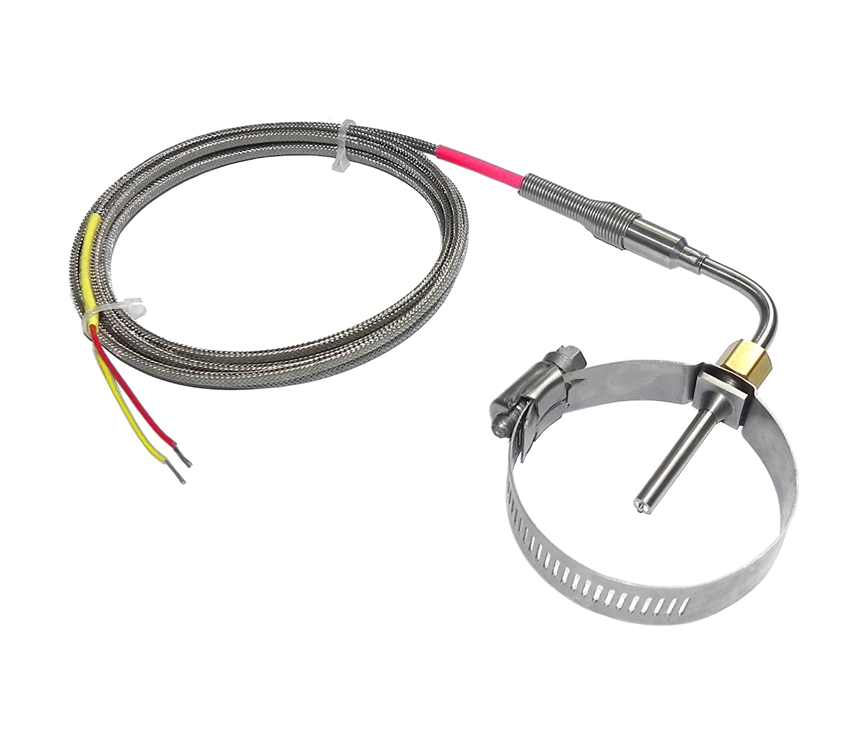 EGT Probe Exhaust Gas Temperature Sensor 16 - Clamp 1 year warranty online shop Muffler 3