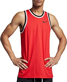 Nike Men's Dry Classic Basketball Jersey (University Rd/Blck/Blck, Small)
