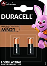 Duracell Specialty Alkaline MN21 Battery 12 V, (A23/23A/V23GA/LRV08/8LR932) Designed for Use in Remote Controls, Wireless Doorbells and Security Systems, Pack of 2