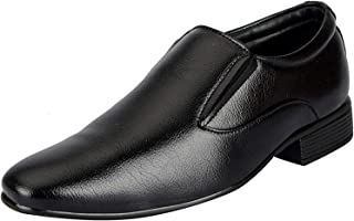 Bata Men's Black Faux Leather Formal Shoes