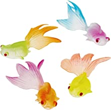 US Toy Glow in the Dark Goldfish Party Accessory (2-Pack of 12 Each For Total of 24 Goldfish)